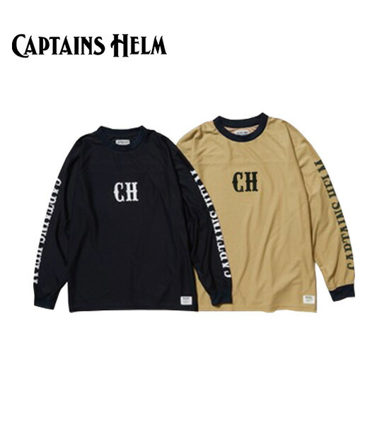 CAPTAINS HELM(キャプテンズヘルム)OUTDOOR SUN-GUARD MESH L/S TEE