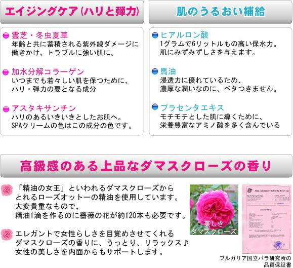 Aging care, moisture, damask rose