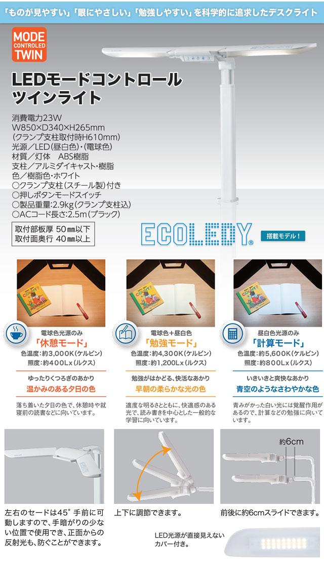 LEDモードコントロールツインライト