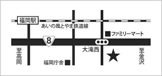 bazbaz高岡店(地図)