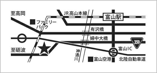 bazbazファボーレ富山店(地図)