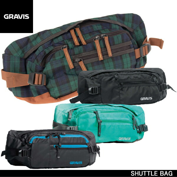 Reload of shoes | Rakuten Global Market: Gravis shuttle bag waist ...