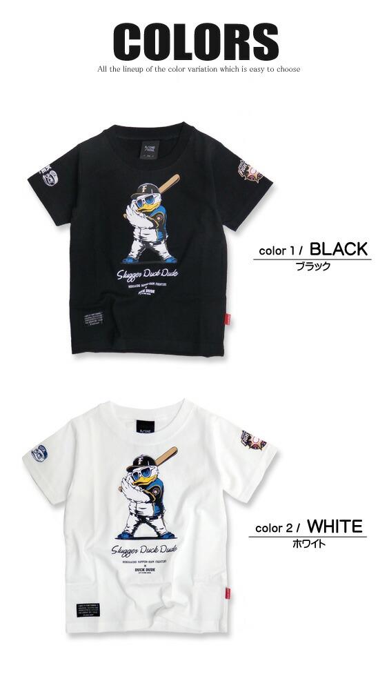 DUCK DUDE Tシャツ メンズ 半袖Tシャツ カラー