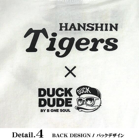 DUCK DUDE Tシャツ メンズ 半袖Tシャツ 背中