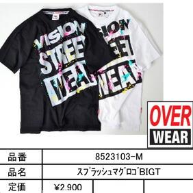 VISION STREET WEAR Tシャツ 商品カタログ