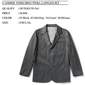 BENDAVIS ジャケット 商品カタログ