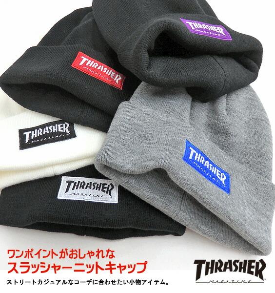 THRASHER ニット帽 スラッシャー ニットキャップ