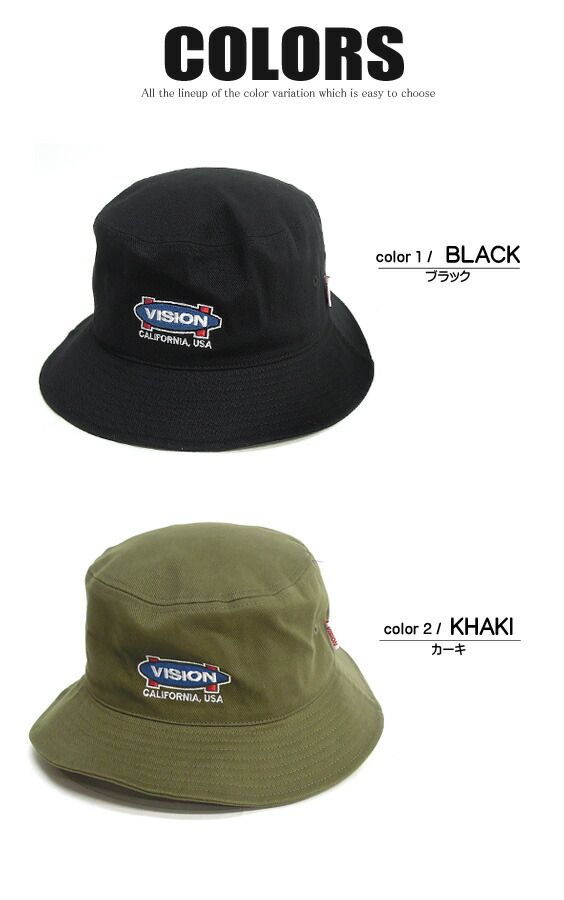 VISION STREET WEAR 帽子 メンズ 帽子 カラー