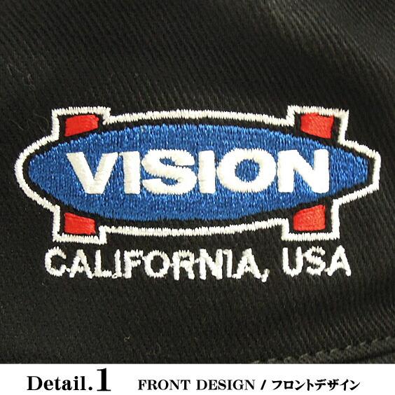 VISION STREET WEAR 帽子 メンズ 帽子 フロント