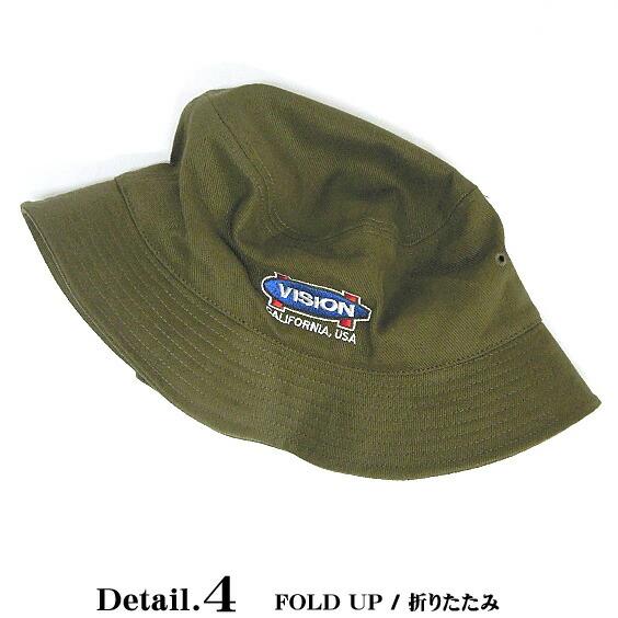 VISION STREET WEAR 帽子 メンズ 帽子 素材