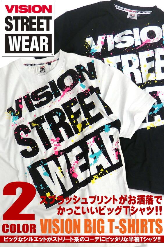 VISION STREET WEAR Tシャツ ヴィジョン 半袖Tシャツ