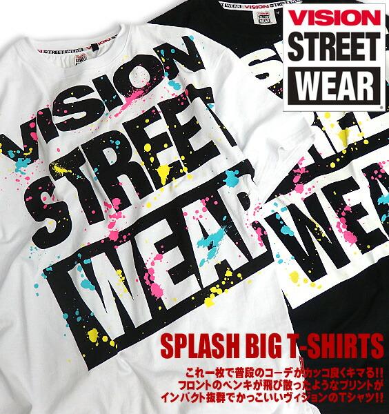 VISION Tシャツ ヴィジョン 半袖Tシャツ