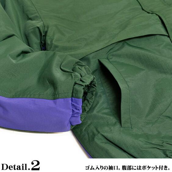 VISION ナイロンジャケット ヴィジョンストリートウェア 中綿ジャケット ポケット