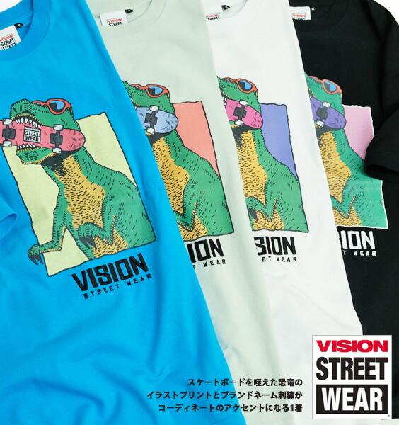 VISION Tシャツ ヴィジョンストリートウェア 半袖Tシャツ