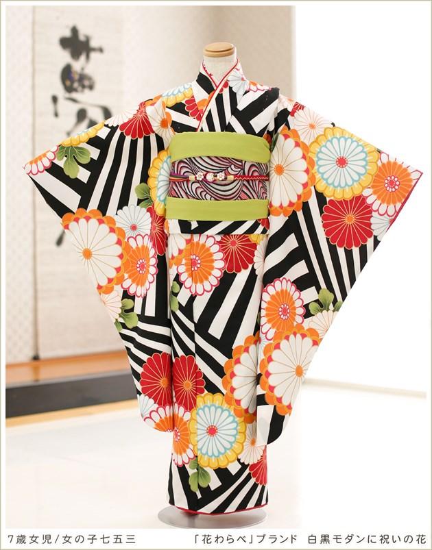 「花わらべ」ブランド 白黒モダンに祝いの花
