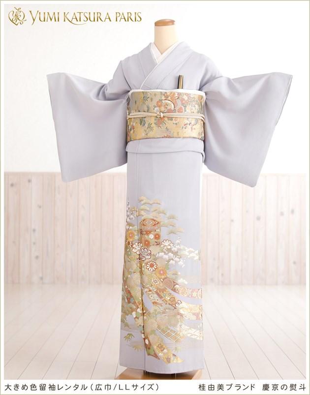 桂由美 色留袖レンタル「慶京の熨斗」