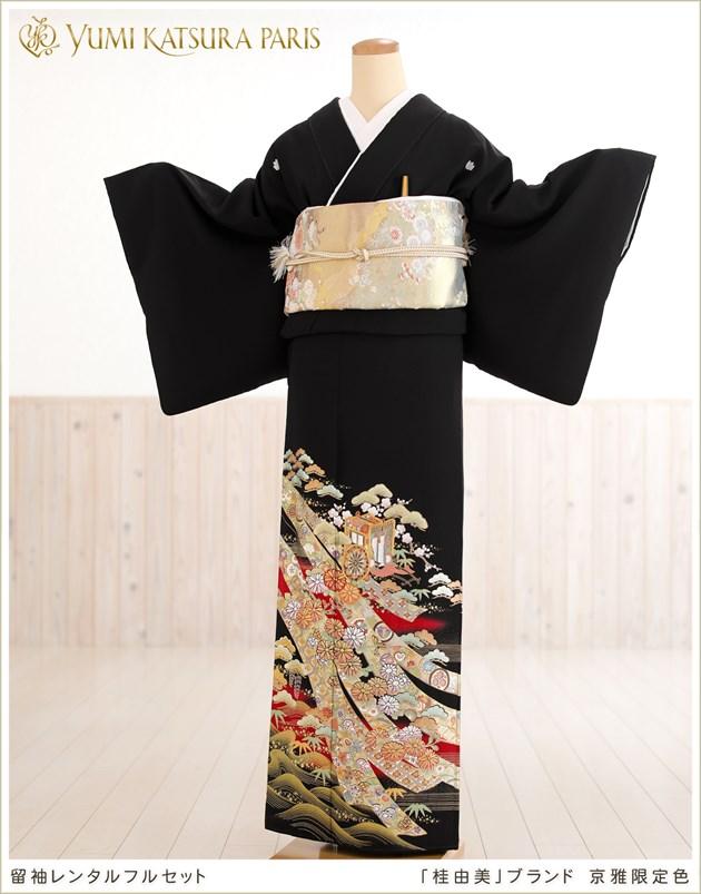 小さ目桂由美留袖レンタル「京雅限定色」