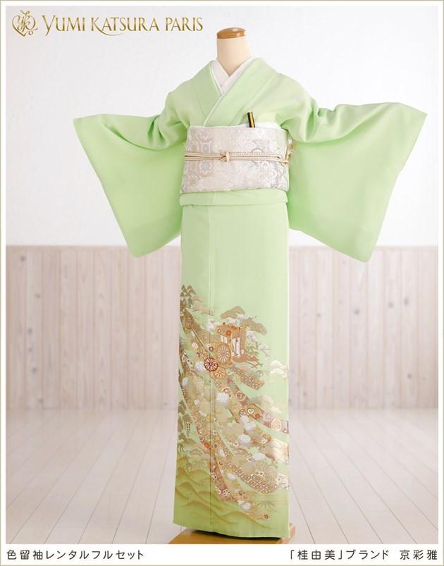桂由美 色留袖レンタル「京彩雅」
