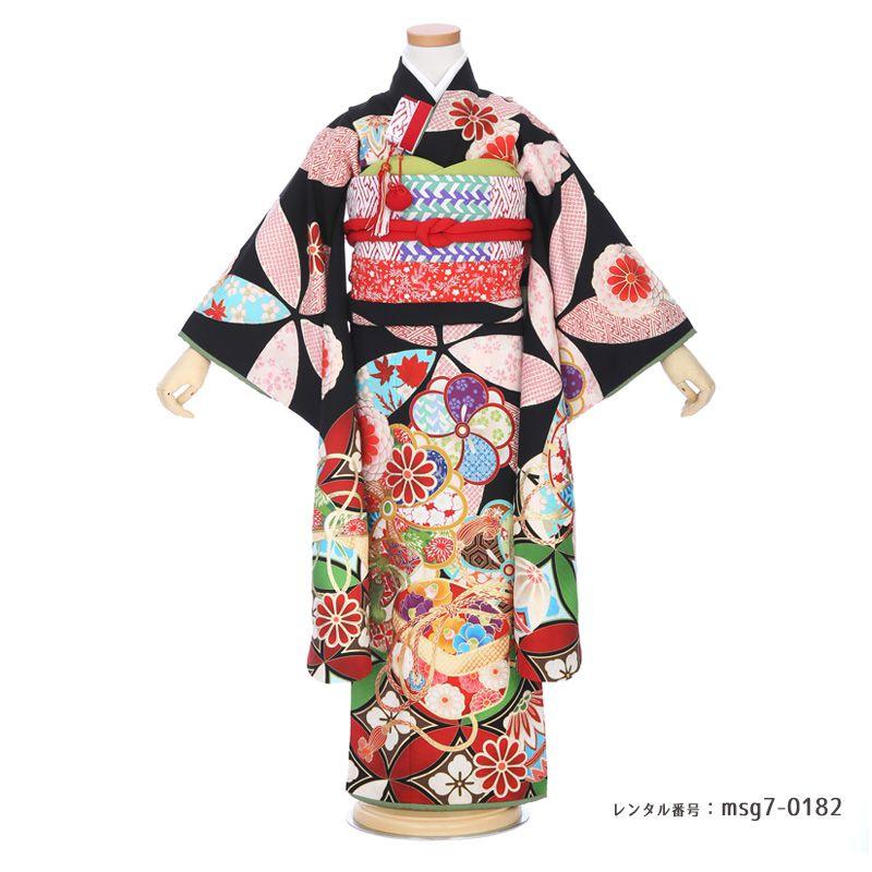 七五三着物衣装の商品写真