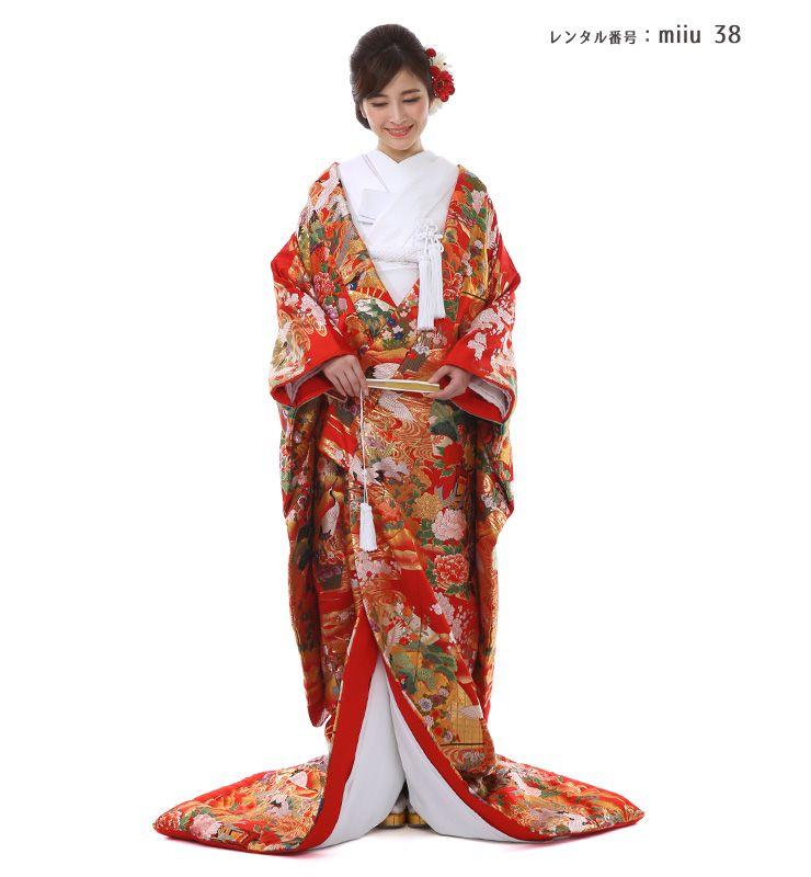 【結婚式】和装レンタル・色打掛(miiu_38)