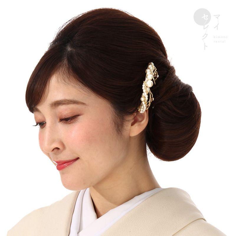 留袖髪飾りレンタル