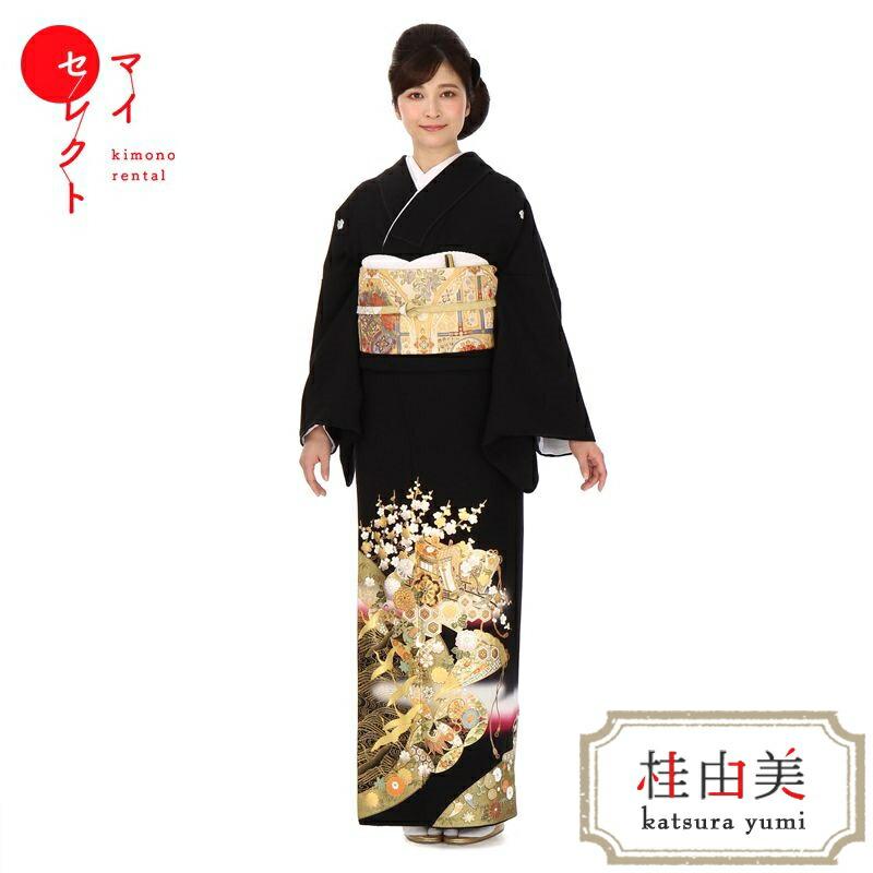 留袖を着たモデル画像