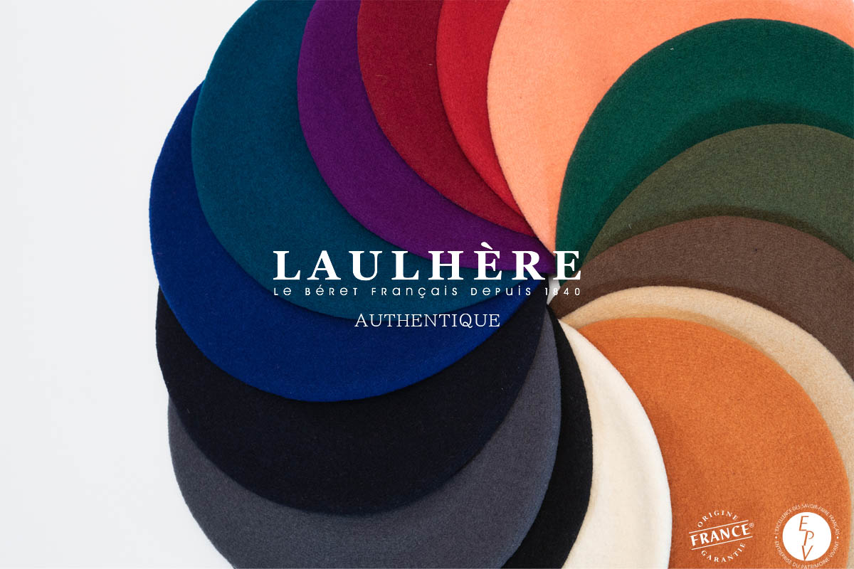 LAULHERE ロレール 10inch ベレー帽 AUTHENTIQUE