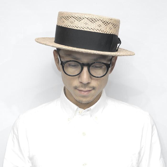 カンカン帽 メンズ 大きいサイズ 小さいサイズ
