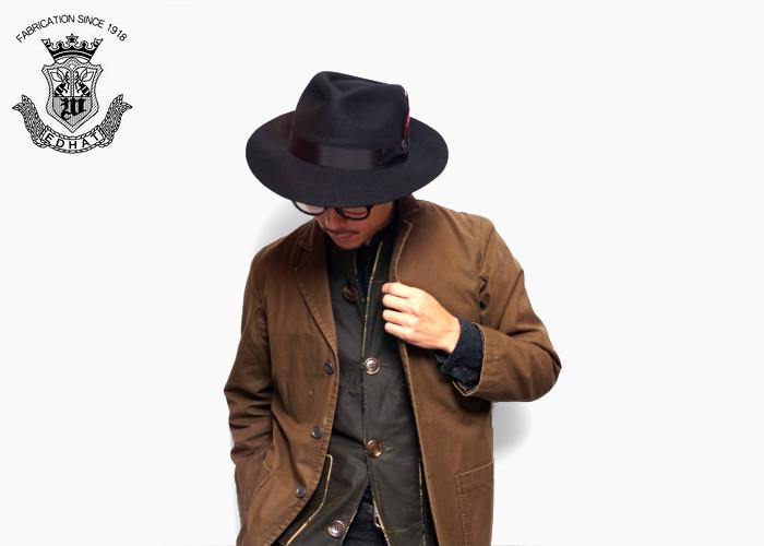 帽子 メンズ 紳士 つば広 ハット