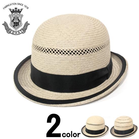 ストローハット メンズ レディース 帽子 小さいサイズ 大きいサイズ