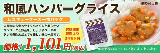 和風ハンバーグライス新発売!