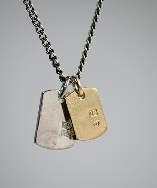 【IDEALISM SOUND(イデアリズム サウンド)】14071-SILVER&GOLD ネックレス