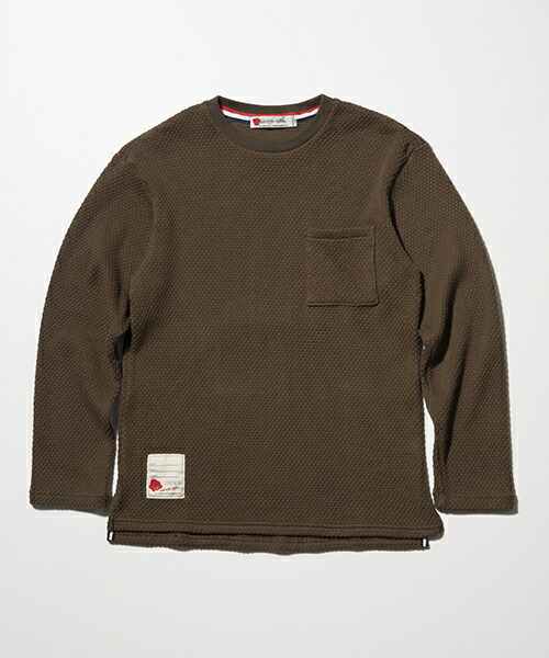 【SEVESKIG(セヴシグ)】LONG SLEEVE KNIT T ニット(CT-SV-HA-1001)