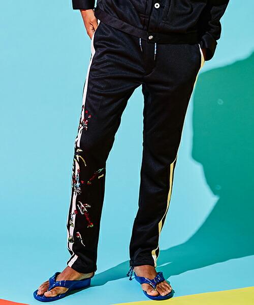 【SEVESKIG(セヴシグ)】JOGGER EMBROIDERY PANTS パンツ(PT-SV-KS-1002)
