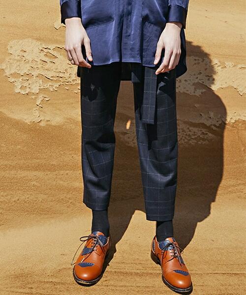 【MIHARAYASUHIRO】Tucked Tapered Trousers パンツ(F03PT011)
