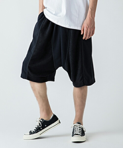 【rehacer(レアセル)】Two Sides Sarrouel Pants ショーツ(01190500025)