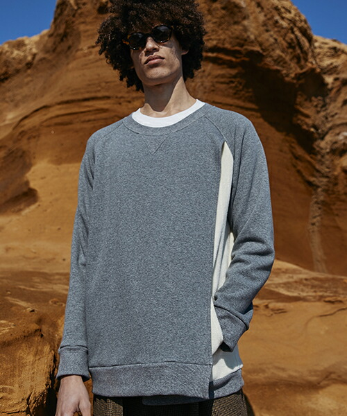 【MIHARAYASUHIRO】Layered Front Sweat Pull-over プルオーバー(F03PO101)