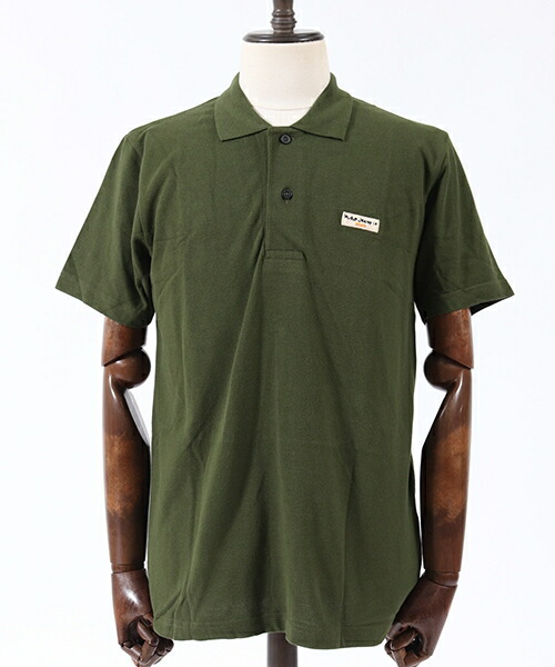 【Nudie Jeans(ヌーディージーンズ)】MIKAEL LOGO POLO SHIRT ポロシャツ(131621)