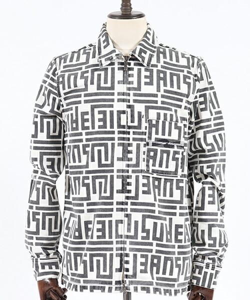 【Nudie Jeans(ヌーディージーンズ)】STEN ZIP GRAPHIC PRINT ジャケット(140590)