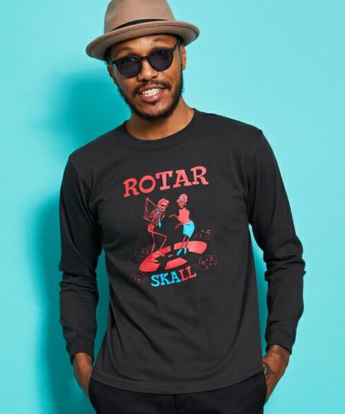 【ROTAR(ローター)】SKALL LS Tee Tシャツ(rt1957508)