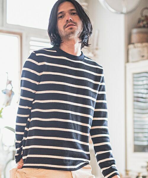 【CAMBIO(カンビオ)】Back Brush Simple Knit sew ニットソー