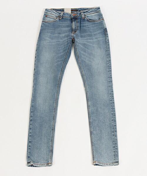 【Nudie Jeans(ヌーディージーンズ)】SKINNY LIN LIGHT BLUE PWR デニムパンツ(112983032)