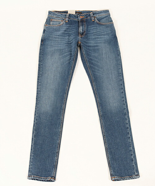 【Nudie Jeans(ヌーディージーンズ)】SKINNY LIN967 MID AUTHENTIC PWR デニムパンツ(112865032)