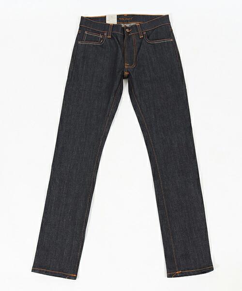 【Nudie Jeans(ヌーディージーンズ)】LEAN DEAN DRY TONAL ECRU デニムパンツ(113041032)