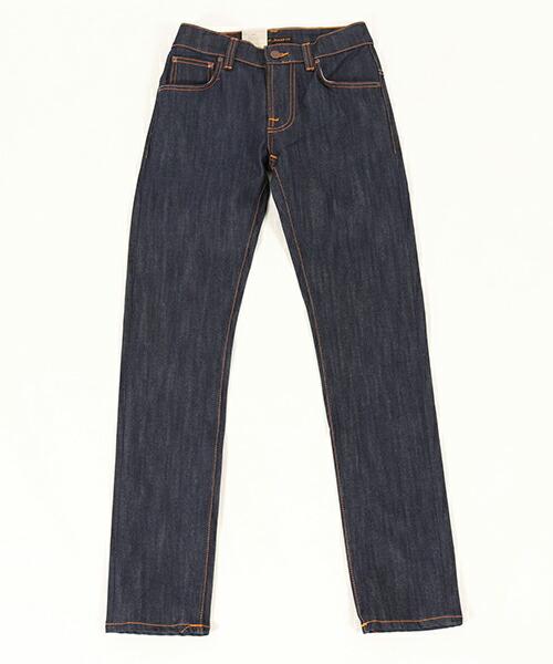 【Nudie Jeans(ヌーディージーンズ)】THIN FINN559 DRY ECRU EMBO デニムパンツ(110268032)