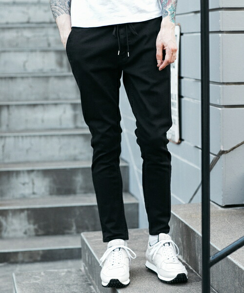 【MROLIVE(ミスターオリーブ)】SUPER STRETCH DENIM -SILICON DYED ANKLE CUT WORKERS EASY PANTS デニムパンツ(M-19308)