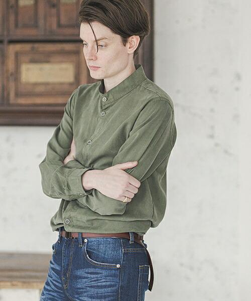【d3d5)】ノーカラーシャツ(d3d5-8004)