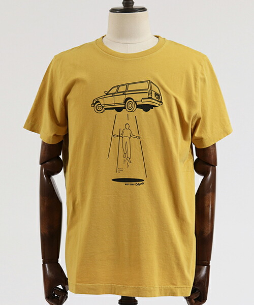【Nudie Jeans(ヌーディージーンズ)】ROY STATION WAGON Tシャツ(131637)