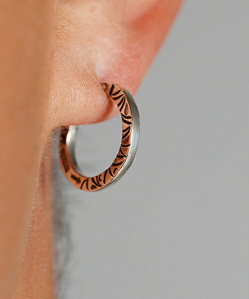 【VIVIFY(ビビファイ)】SideArabesque Hoop Pierce(S) ピアス(VFP-263)
