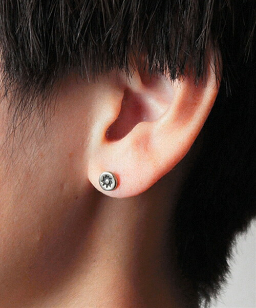 【VIVIFY(ビビファイ)】Stamped Circle Pierce ピアス(VFP-241)